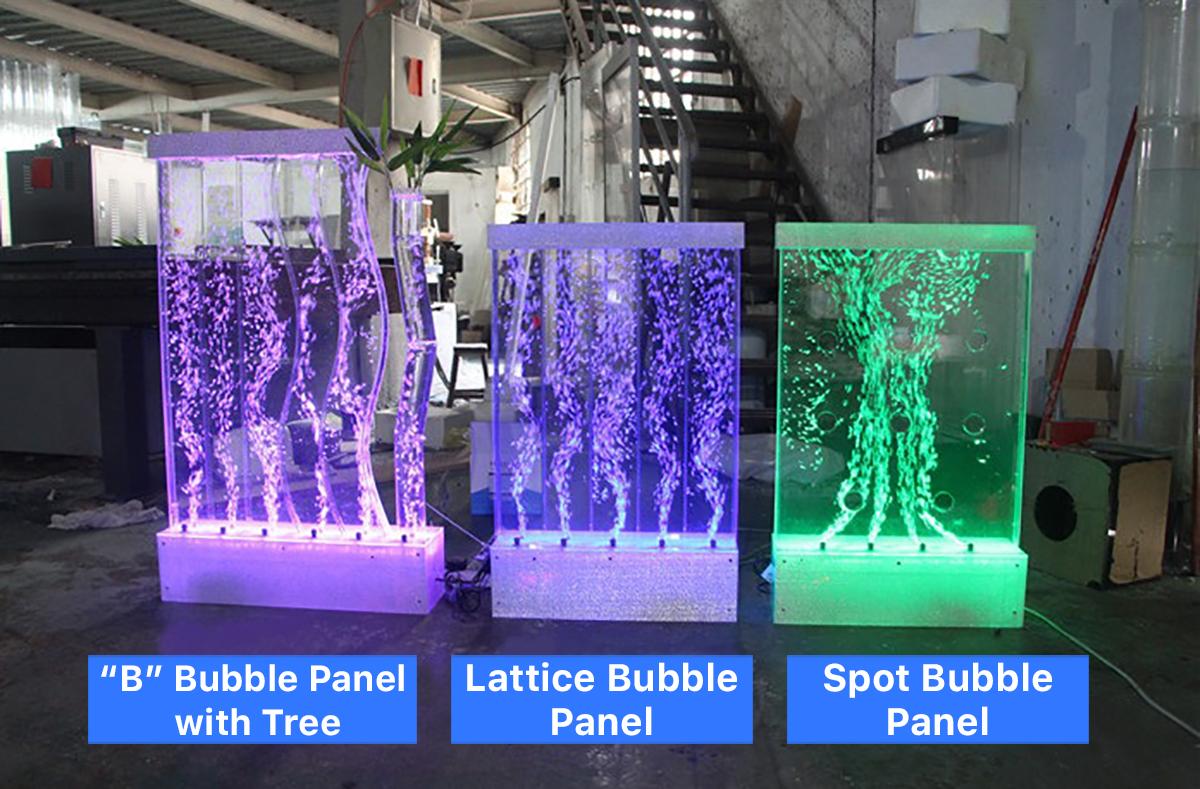 Bubble Panel with Tree | Lattice Bubble Panel | Spot Bubble Panel