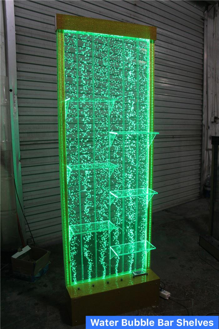 Bubble Wall Water Panel Bar Shelves