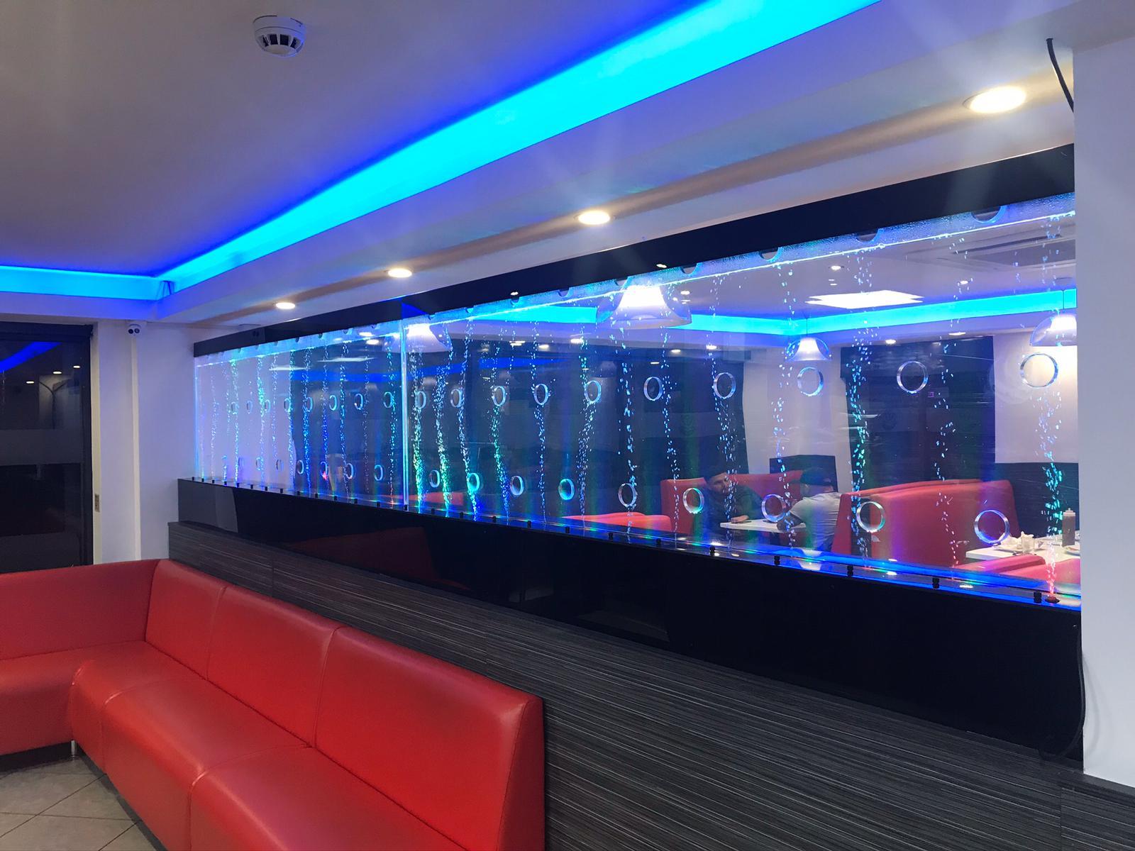 LED Bubble Walls Restaurant 2